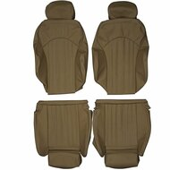 1998-2003 BMW E39 M5 Custom Real Leather Seat Covers (Front)