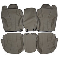 1999-2002 Chevrolet Silverado Custom Real Leather Seat Covers (Front)