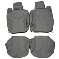 2000-2002 GMC Yukon XL 1500 2500 SLT Custom Real Leather Seat Covers (Front)