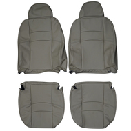 1996-2000 Volvo S70 Custom Real Leather Seat Covers (Front)