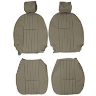 1976-1979 TVR M-Series Custom Real Leather Seat Covers (Front)