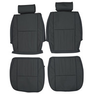 1980-1989 Toyota Land Cruiser J60 Custom Real Leather Seat Covers (Front)