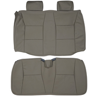 2002-2003 Saab 9-3 SE Convertible Custom Real Leather Seat Covers (Rear)