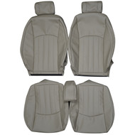 2001-2009 Jaguar X-Type Custom Real Leather Seat Covers (Front)