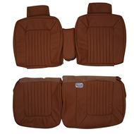 1979-1980 Cadillac Coupe Deville Custom Real Leather Seat Covers (Front)