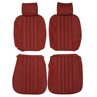 1963-1971 Mercedes-Benz W113 230SL 250SL 280SL Custom Real Leather Seat Covers (Front)