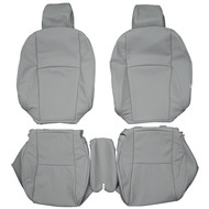 2007-2012 Lexus ES350 Custom Real Leather Seat Covers (Front)