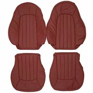 2003-2007 Mercedes-Benz R230 AMG SL55 SL65 Custom Real Leather Seat Covers (Front)