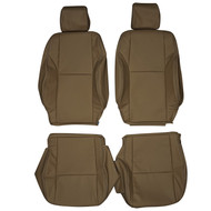 2004-2010 Scion tC Custom Real Leather Seat Covers (Front)