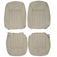 1988-1994 Jaguar XJ Vanden Plas Custom Real Leather Seat Covers (Front)