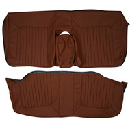 1979 Cadillac Deville Phaeton Custom Real Leather Seat Covers (Rear)
