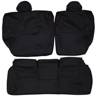 2001-2005 Honda Civic Si Custom Real Leather Seat Covers (Rear)