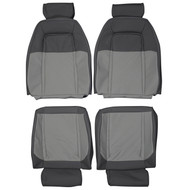 1986-1990 ASC Mclaren Ford Mustang Custom Real Leather Seat Covers (Front)