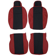 1968-1978 Fiat 124 Spider Custom Real Leather Seat Covers (Front)