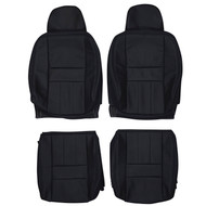 1990-1998 Volvo 940 Custom Real Leather Seat Covers (Front)
