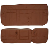 1999-2001 Ford F150 Extended Cab Custom Real Leather Seat Covers (Rear)