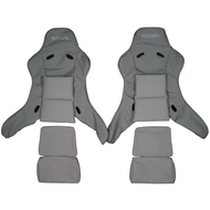 Recaro Pole Position Custom Real Leather Seat Covers (Front)