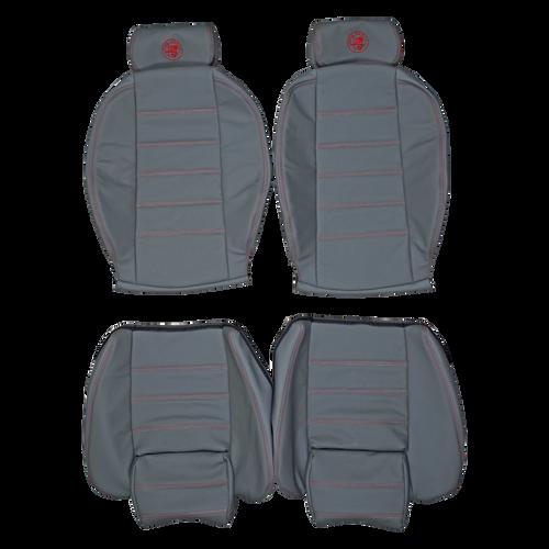 1990-1993 Alfa Romeo Spider Custom Real Leather Seat