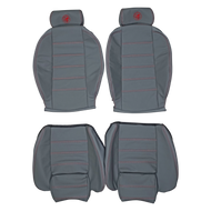 1990-1993 Alfa Romeo Spider Custom Real Leather Seat Covers (Front)