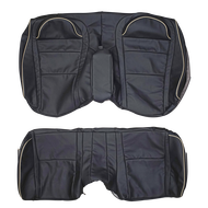1996-2002 Cadillac Eldorado Custom Real Leather Seat Covers (Rear)