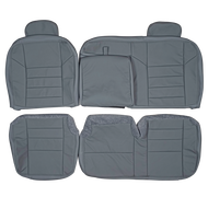 2002-2005 Ford Excursion Custom Real Leather Seat Covers (Rear)