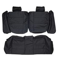 1992-1998 BMW E36 Compact Custom Real Leather Seat Covers (Rear)