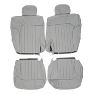 1998-2004 Chevrolet S10 Blazer Custom Real Leather Seat Covers (Rear)