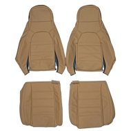 1989-1997 Mazda MX-5 Miata NA6CE Custom Real Leather Seat Covers (Front)