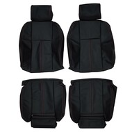 1996-2003 BMW E39 5 Series Sport Custom Real Leather Seat Covers (Front)