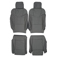 2003-2005 Audi S4 B6 Custom Real Leather Seat Covers (Front)