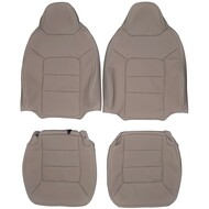 2003-2006 Ford Expedition Eddie Bauer Custom Real Leather Seat Covers (Front)