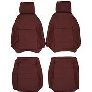 1986-1991 Mazda RX-7 FC3S Custom Real Leather Seat Covers (Front)