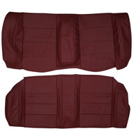 1987-1993 BMW E30 M3 Custom Real Leather Seat Covers (Rear)