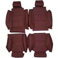 1987-1993 BMW E30 M3 Custom Real Leather Seat Covers (Front)