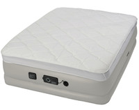 Insta-Bed Raised Queen Pillow Top w/neverFLAT™ Pump airbed, inflated
