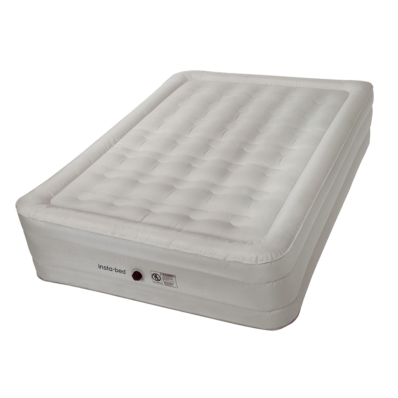 "Instabed 14"" Queen w/External AC Pump and NeverFLAT™ Fabric Technology airbed, inflated"
