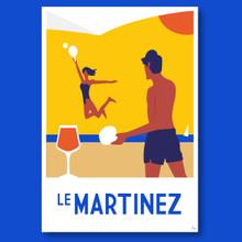 MARTINEZ PLAGE - GICLEE PRINT