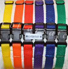 Set of (6) includes the following colors: yellow, orange, red, purple, royal blue, kelly green