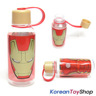 Mavel Iron Man Simple Tritan Bottle 380ml BPA Free