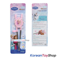 Disney Frozen Stainless Steel Training Chopsticks Tiara Style