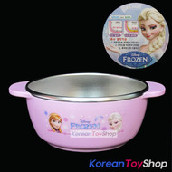 Disney-Frozen-Character-Stainless-Steel-Bowl-Small-Size-withNon-Slip-Pad-BPA-Free
