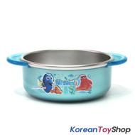 Disney Finding DORY Nemo Stainless Steel Medium Bowl Handle Non-slip BPA Free