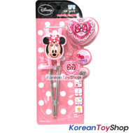 Disney Mickey Mouse Stainless Steel Training Chopsticks Minnie Model Right Hand