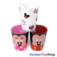 Disney-Mickey-Minnie-Mouse-Plastic-3-pcs-Cups-Set-Cup-Party-Supplies