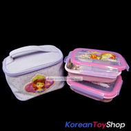 Disney-Sofia-the-First-Stainless-Steel-Insulated-Lunch-Box-2-pcs-Advanced-Type