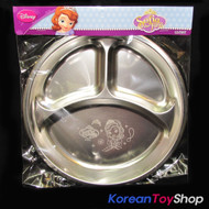 Disney Princess Sofia the First Stainless Steel Plate Food Tray BPA Free