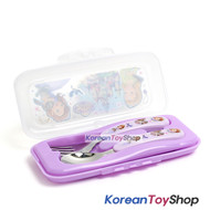 Disney-Princess-Sofia-the-First-Stainless-Steel-Spoon-Fork-Case-Set-Korea