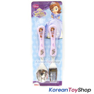 Disney-Sofia-the-First-Princess-Stainless-Steel-Spoon-Fork-Set-Kids