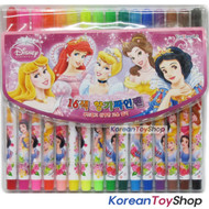 Disney Princess 16 Colors Felt Tip Pens High Quality