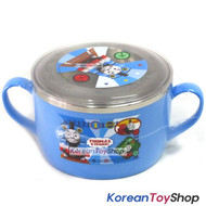 Thomas & Friends Stainless Steel Big Bowl w/ Handle & Lid BPA Free